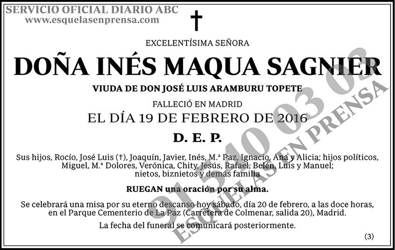 Inés Maqua Sagnier